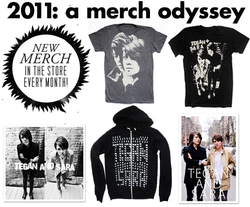 tegan and sara merchandise