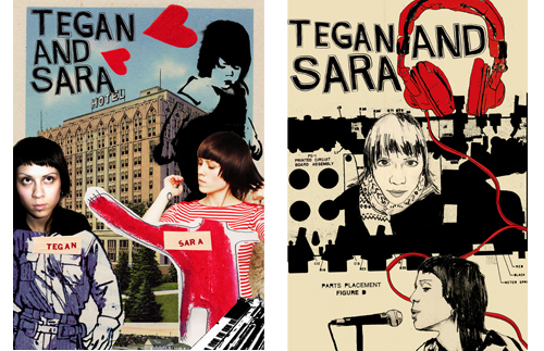 Tegan and Sara Posters