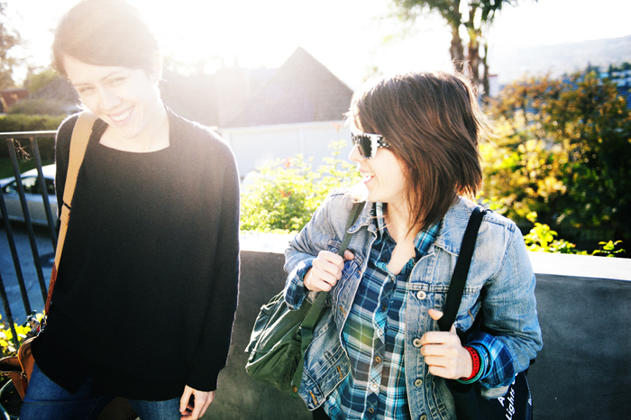 Tegan and Sara in Los Angeles - Photo by Lindsey Byrnes