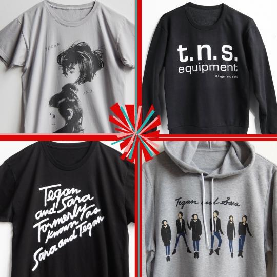 TeganSara-merchandise-shipping