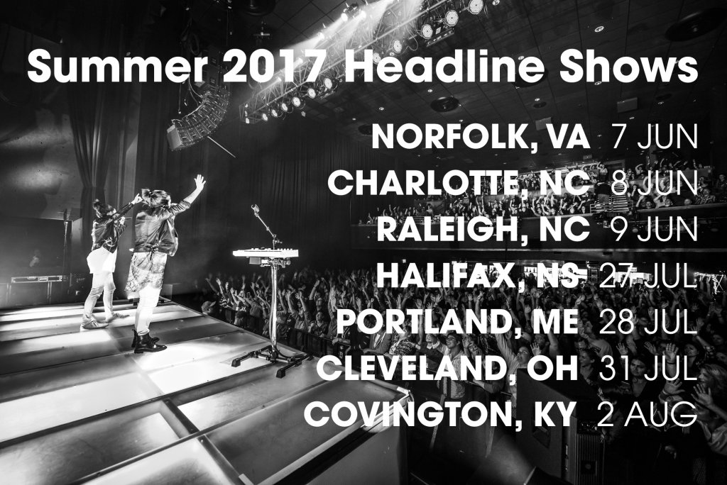 Summer 2017 headline shows tegan and sara for Craft shows in nc 2017