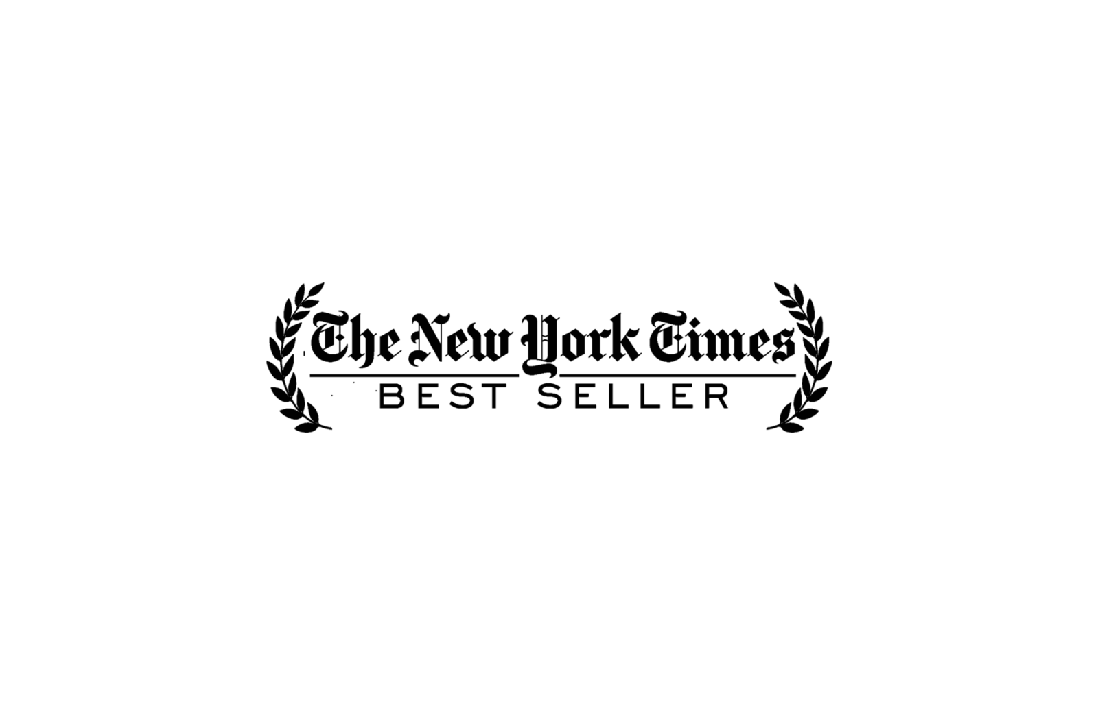The New York Times Bestseller logo on white background