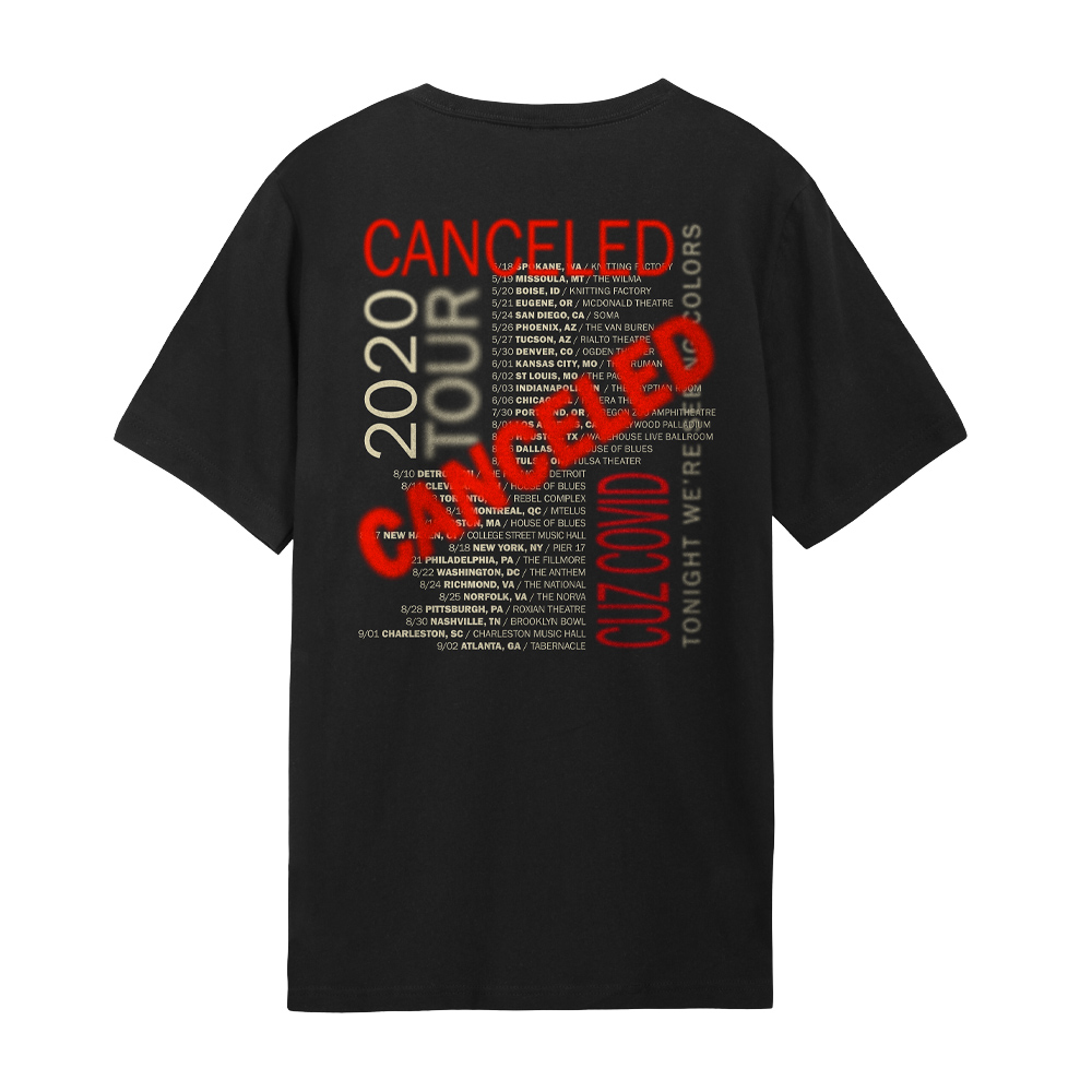 Canceled Tee Back Pic