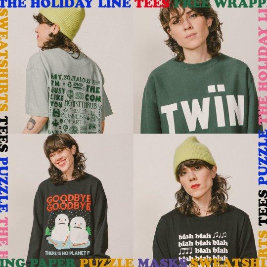 Tegan and Sara Holiday merchandise 2020